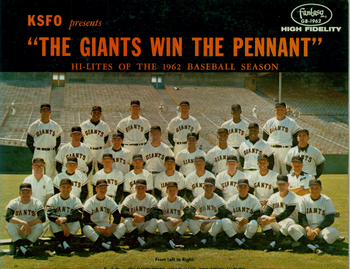 The '62 Giants (photo credit: BayAreaRadio.com)