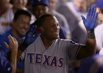 Beltre is on fire. Oakland can't let him beat them