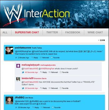 InterAction portal on WWE.com: Courtesy http://www.springcreekgroup.com