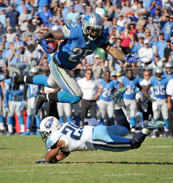 Leshoure roared for a 100-yard day against the Titans and has emerged as the Lions' No. 1 back.