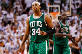 Paul Pierce and Kevin Garnett need to make sure that the new players buy in to Doc Rivers' message.