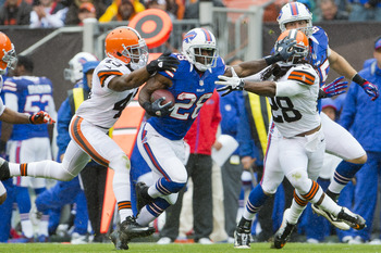 Spiller was shredding the Browns before he got hurt.