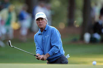 Ben Crenshaw had to use his wedge and 1-iron to putt with after breaking his putter in the 1987 Ryder Cup.