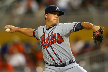 If the Braves win the NL East, we could get to watch Kris Medlen against Matt Cain in the first game of the playoffs.