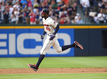Jason Heyward and the Braves could still play someone other than the Cardinals in the wild-card game.