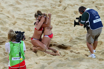 Kerri Walsh-Jennings and Misty May-Treanor