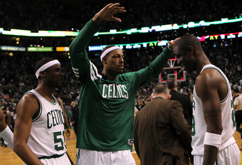 Pierce ranks high among the list of all time great Celtics.