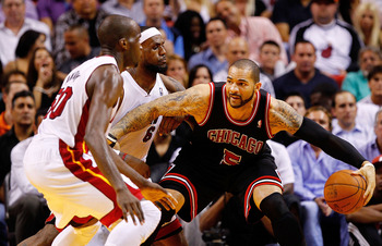 Is Boozer losing his grip on the starting power forward spot?