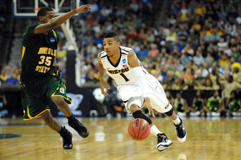Phil Pressey showing off his running back form