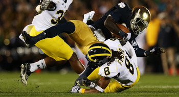 J.T. Floyd is among the Michigan Wolverines leading tacklers so far this season.