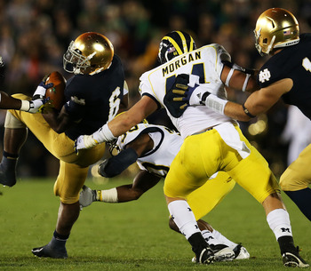 Desmond Morgan struggled early in the season, but kept true freshman James Ross III from keeping his job last weekend.