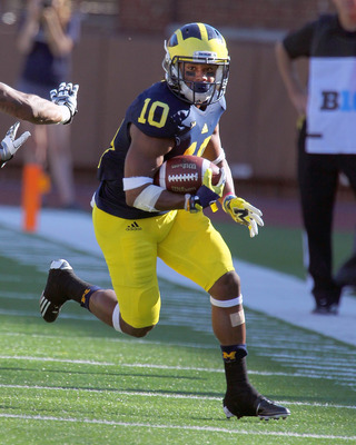 Junior wide receiver Jeremy Gallon is one of the Michigan Wolverines leading receivers through four games.