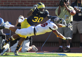Thomas Gordon's play has been impressive over the course of the Michigan Wolverines first four contests.