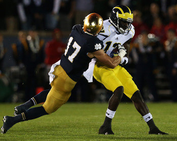 Devin Gardner has adjusted well in the transition from quarterback to wide receiver.