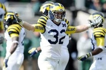 Jordan Kovacs is the Michigan Wolverines top tackler through four games