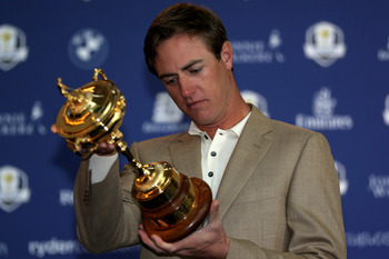 Europe's Nicolas Colsaerts hopes to be holding the Ryder Cup as a winner Sunday night.