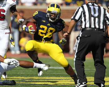 Michigan running back Fitz Toussaint, where art thou?