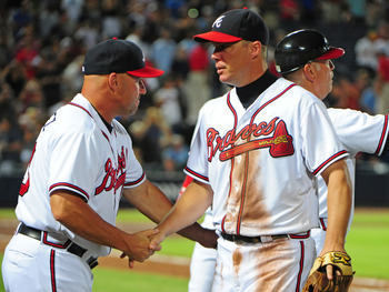 Chipper Jones is out for one last hurrah.