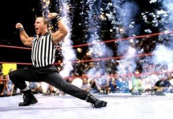 Shawn Michaels was a special referee at SummerSlam in 1997.
