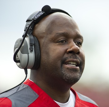 Offensive Coordinator Mike Locksley