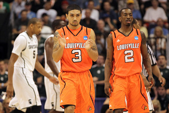 Russ Smith and Peyton Siva will both be upperclass leaders this upcoming season.