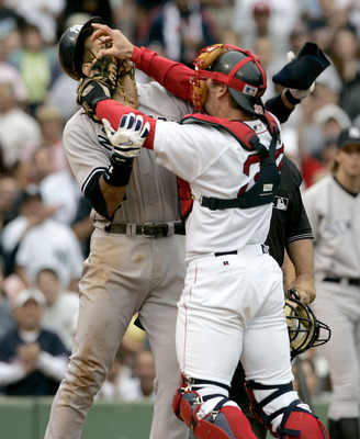 Varitek could help the Sox become more competitive in their division.