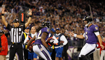 Joe Flacco and the Ravens offense have looked great, but other flaws keep them from San Francisco's level.