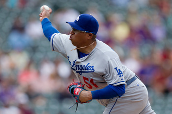 Ronald Belisario has been terrific in the setup role that Kenley Jansen made famous for the Dodgers in 2011.