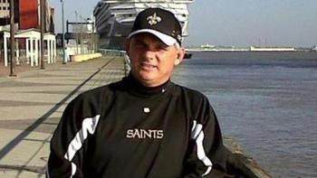 Possible Saints fan and NFL Referee Brian Stropolo / courtesy Pro Football Talk