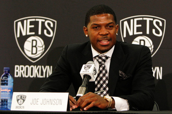Will Joe Johnson help carry the Nets into contention?