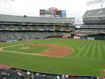 The most spacious foul territory in baseball (courtesy: unclebobsballparks58.tripod.com)