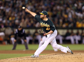 The A's pitching is no joke when the lights come on