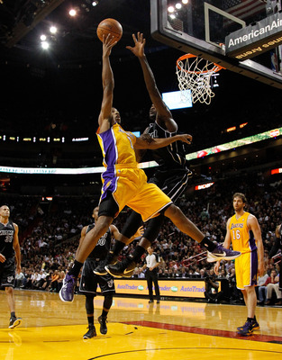 LA Lakers guard Darius Morris