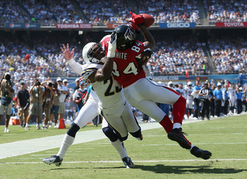 Roddy White has always done the little things for the Falcons.