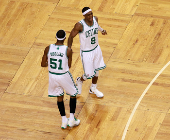 Rondo no longer has Dooling for support.