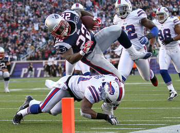 Stevan Ridley picked up 42 yards on 6 carries in his last visit to Buffalo
