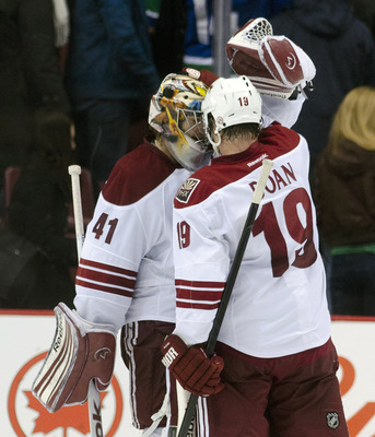 Doan and Smith are tow of the players in the clubhouse that the Yotes count on to provide veteran leadership