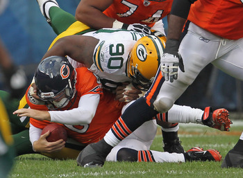 The Bears offensive line has had trouble protecting Cutler for quite some time.