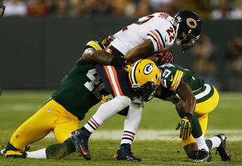 Matt Forte's injury is a big blow to the Bears struggling offense.