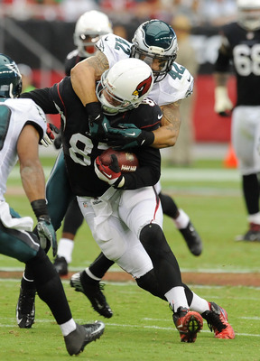 Jeff King and the Cardinals tight ends look for a breakout game against Miami.