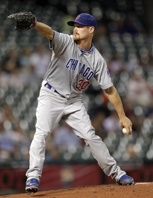 Travis Wood has had a rough season on the bump for the Cubs.