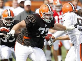 It's worth seeing if Schwartz can protect Weeden from an aggressive Baltimore defense. Photo courtesy of Yahoo! Sports