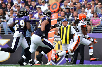 The Ravens can't let Josh Cribbs have a big return.