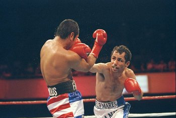 The late Genaro Hernandez gave Mayweather his first title shot.