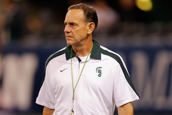 Mark Dantonio has made the Michigan Wolverines his No. 1 target since taking over in East Lansing.