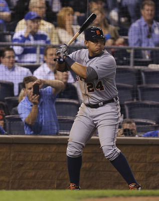 Cabrera'a triple crown earned him the top 1B spot.