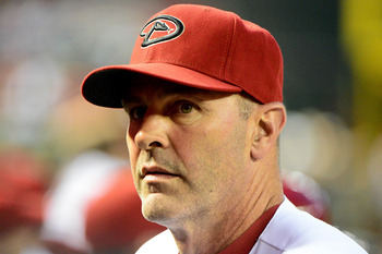 Diamondbacks manager Kirk Gibson couldn't rally the troops this time.