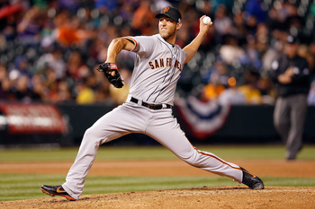 Madison Bumgarner pitches like a wily veteran at the age of 23.