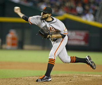 Sergio Romo has handled the majority of the save opportunities of late.