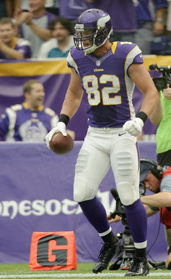 Kyle Rudolph has caught three touchdowns in three games.